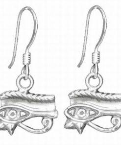 Cercei din argint cu Ochiul lui Horus