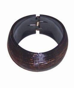 Bratara fixa, lata, de culoare maro pentru stabilitate