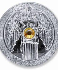 Moneda ingerului Jophiel, placata cu argint