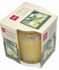 Lumanare parfumata cu aroma de lamaie verde/limes
