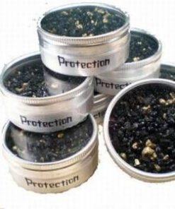 Cutiuta cu rasina / tamaie pentru fumigatie - Protectie