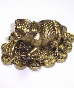 Bivolul prosperitatii auriu - remediu feng Shui
