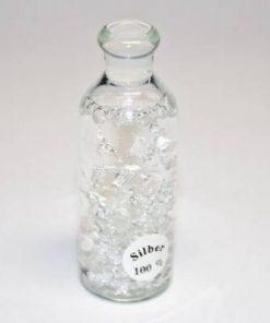Sticluta Feng Shui cu foite de argint - remediu de bogatie