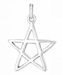 Pandantiv din argint - Pentagrama magica