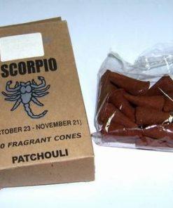 Set 20 de conuri parfumate - Patchouli