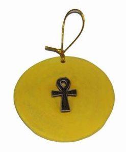 Cheia Intelepciunii la egipteni, din metal, pe suport