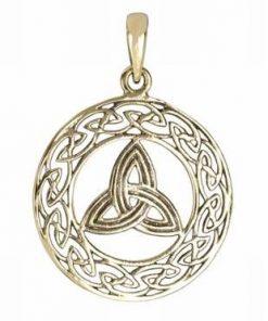 Talisman cu cele 3 tipuri de noroc, din bronz