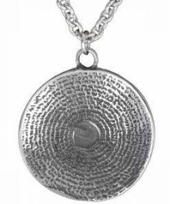 Calendarul aztec - talisman din cositor