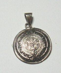 Calendarul aztec din argint
