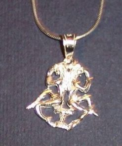 Pandantiv  din argint- Gemeni