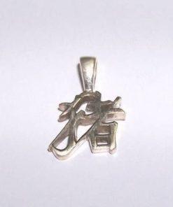 Pandantiv din argint - zodia Sarpe pe lantisor din argint