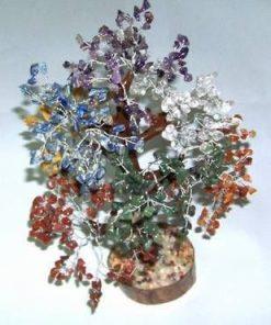 Copacel cu cristalele celor 7 chakre - XXL