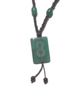 Colier cu cifra opt pe agat - MODEL DEOSEBIT