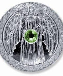 Moneda ingerului Rafael, placata cu argint