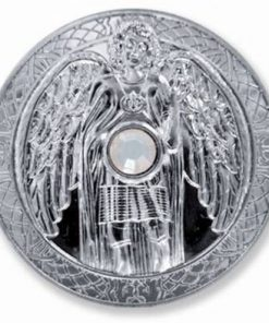 Moneda ingerului Gabriel, placata cu argint