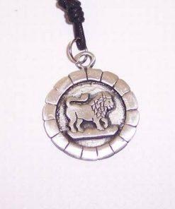 Talisman din metal--protectie pentru zodia leu