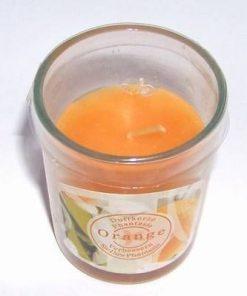 Lumanare parfumata cu aroma de portocale