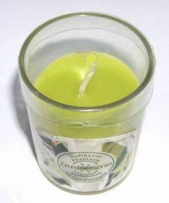 Lumanare parfumata cu aroma de lamaie verde