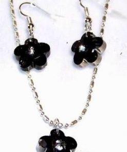 Set de bijuterii: pandantiv pe lantisor si cercei - unicat!