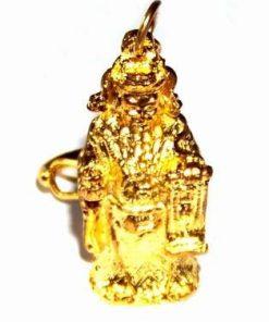 Breloc auriu cu zeitate de protectie