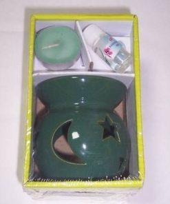 Set de aromoterapie - verde inchis