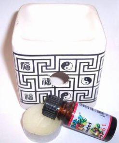 Set de aromoterapie cu simbolul Yin Yang