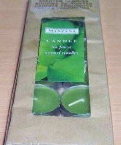 8Lumanari parfumate cu aroma de mar verde