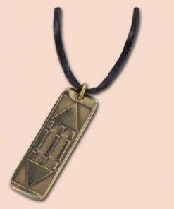 Pandantiv din alama cu simbolul Luxor / Atlantida -