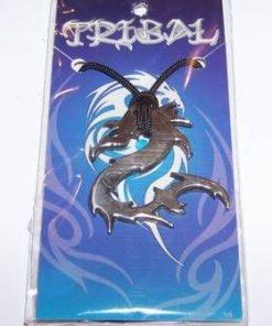 Talisman din metal nobil pe siret - Dragonul Dragostei