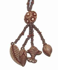 Colier din rasina cu simboluri marine