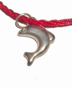 Talisman cu delfin din metal nobil pentru succes profesional