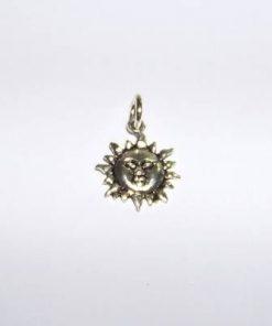 Talisman din metal nobil - Soare stralucitor