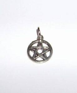 Pentagrama din metal nobil - pandantiv