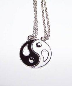Talisman dublu cu Yin-Yang pentru cuplu