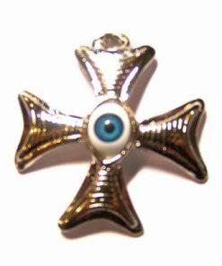 Crucea balteza cu ochiul lui horus- pandantiv 1 + 1 Gratis