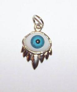 Frunza norocului cu ochiul lui Horus pandantiv 1 + 1 Gratis