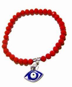 Bratara rosie cu Ochiul lui Horus  1 + 1 Gratis