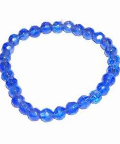 Bratara albastra, pe elastic 1+1 Gratis