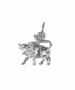 Pandant din argint 925 cu Bivolul succesului absolut