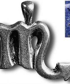 Talisman norocos pentru zodia Scorpion cu obsidian