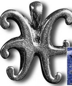 Talisman norocos pentru zodia Pesti cu cristal de agat