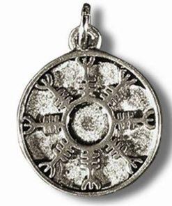 Amuleta liderului - Talisman din metal cu agat