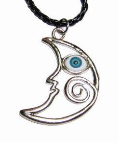 Luna protectoare cu Ochiul lui Horus pe siret negru