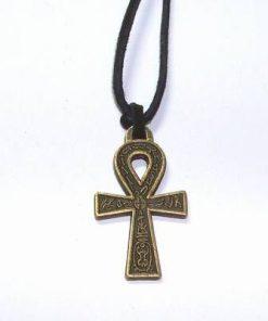 Talisman din metal nobil - Crucea intelepciunii