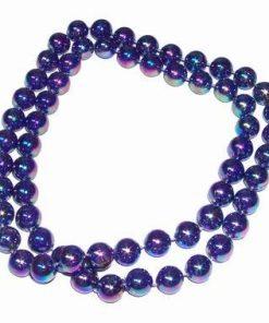 Colier cu perle, cameleon, pentru protectie