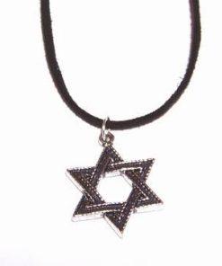 Hexagrama magica - talisman din metal nobil
