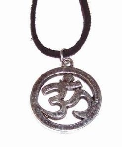 Simbolul Tao/OM din metal nobil