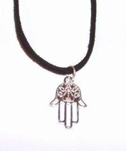 Mana lui Fatima - talisman din metal nobil