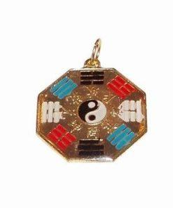 Talisman cu simbolul Yin-Yang si Ba Gua