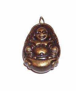 Pandantiv cu Buddha pe pepita - vintage